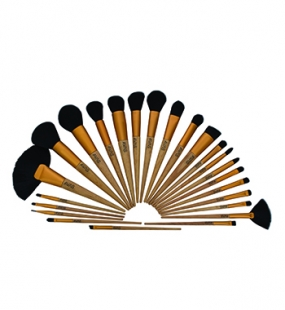 Wooden Handle Brushes Set